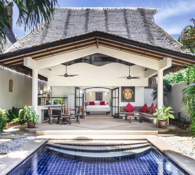 One and Two Bedroom Tropical Pool Villa1
