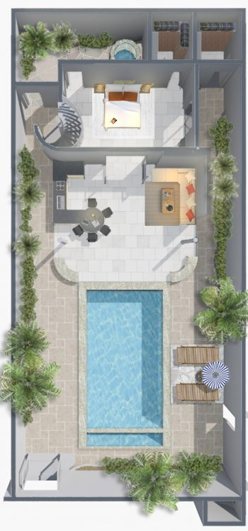 One_Two_Bedroom_Tropical_Pool_Villa_Downstairs cropped